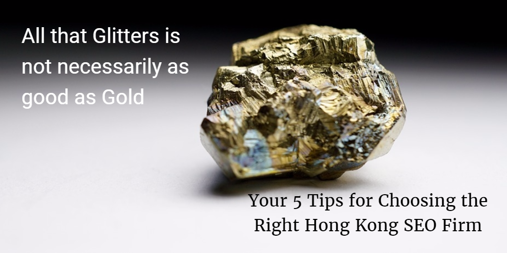 5 Tips for Choosing the Right Hong Kong SEO Firm