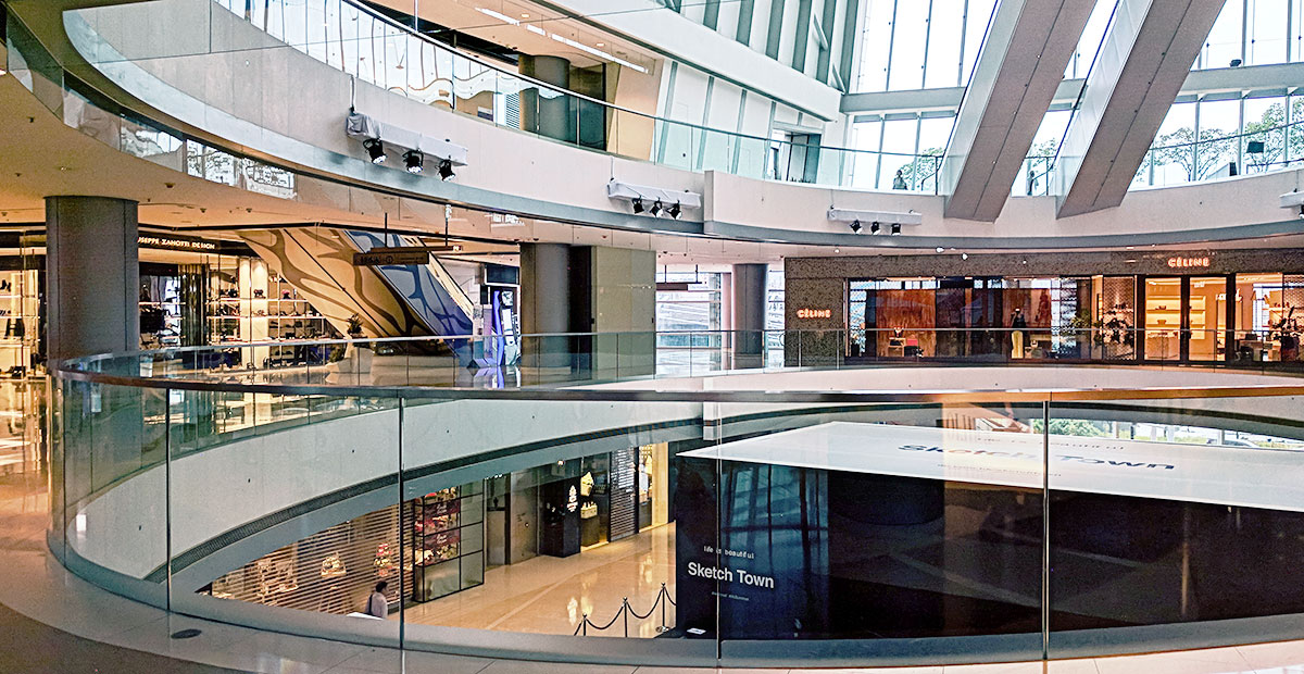 IFC Mall as an example of Commercial Retail Interior Design