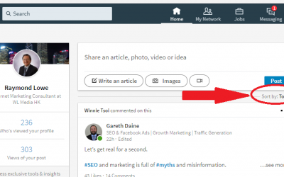 The subtle switch on LinkedIn to escape the influencer bubble